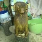 Labrador, Skulptur, Kettensäge, Berlin , Brandenburg, geschnitzt, Handmade, Holz