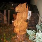 Drache, Fantasy, Fantasie, Skulptur, Kettensäge, Berlin , Brandenburg, geschnitzt, Handmade, Holz