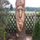Waldgeist, frech, Skulptur, Kettensäge, Berlin , Brandenburg, geschnitzt, Handmade, Holz