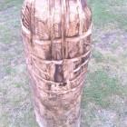 Teki Figur , Skulptur, Kettensäge, Berlin , Brandenburg, geschnitzt, Handmade, Holz