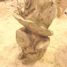 grisu feuerdrache, und ich werdedoch Feuerwehrmann! Skulptur, Kettensäge, Berlin , Brandenburg, geschnitzt, Handmade, Holz