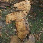 Pferd aufgebäumt , Skulptur, Kettensäge, Berlin , Brandenburg, geschnitzt, Handmade, Holz