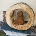 Ringeule, Skulptur, Kettensäge, Berlin , Brandenburg, geschnitzt, Handmade, Holz