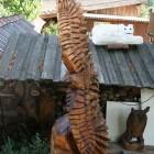 fliegender Adler, Skulptur, Kettensäge, Berlin , Brandenburg, geschnitzt, Handmade, Holz