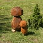 Pilz, Pilze, Skulptur, Kettensäge, Berlin , Brandenburg, geschnitzt, Handmade, Holz